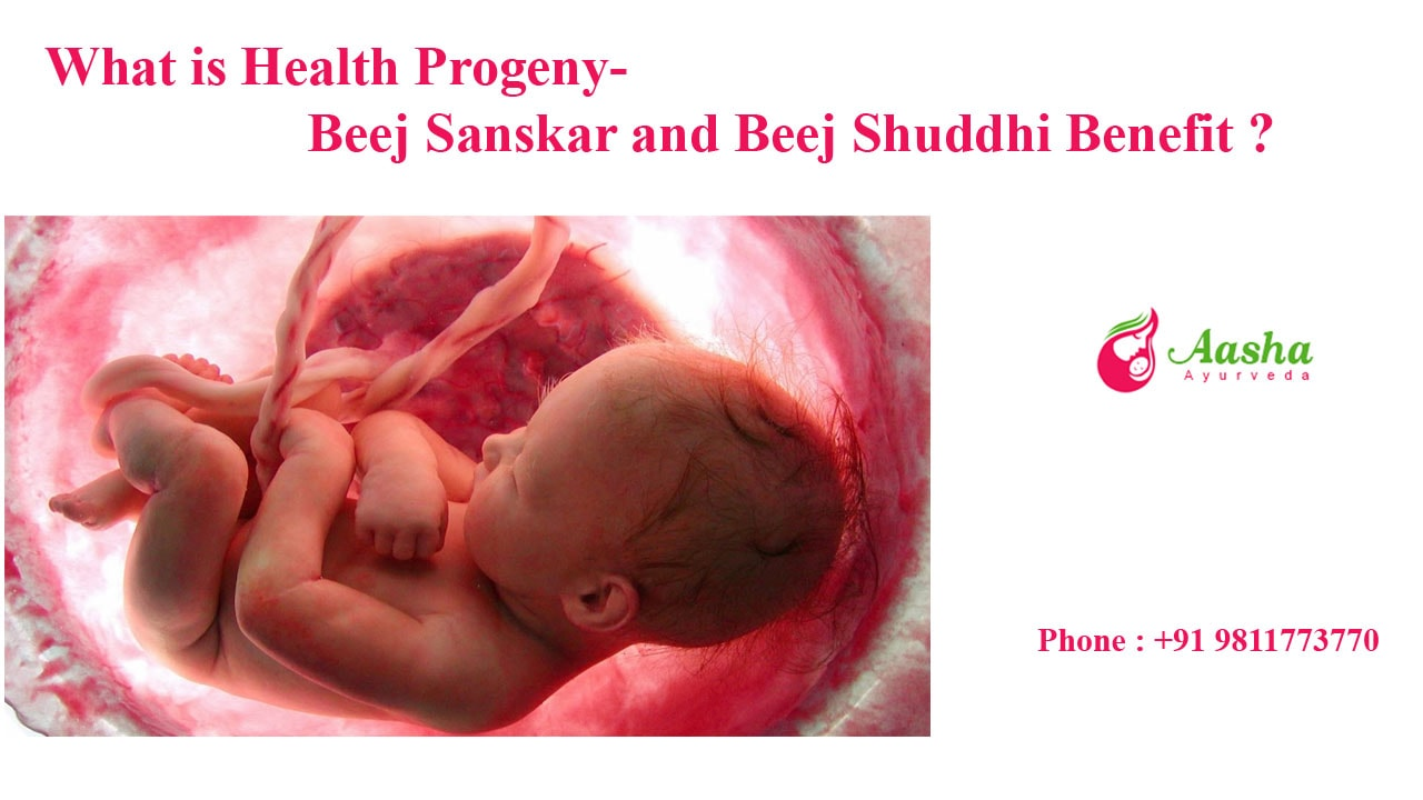 what is Healthy Progeny- Beej Sanskar and Beej Shuddhi Benefit ?